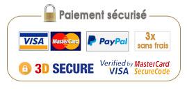 Bannière paiement sécurisé