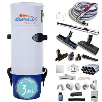 aspirateur-centralise-aspibox-serenity-avec-kit-flexible-9m-avec-variateur-de-vitesse-8-access-kit-4-prises-kit-prise-balai-kit-prise-garage-jusqu-a-350m2-garantie-3-ans-150-x-150-px