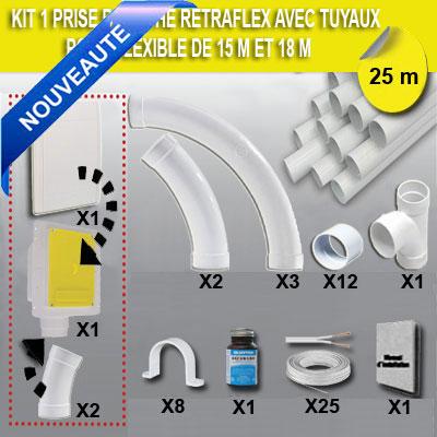 kit-1-prise-retraflex-blanche-nouvelle-generation-20-plus-petit-que-le-premier-modele!-avec-25m-de-tuyaux-pvc-pour-flexibles-de-15m-et-18m-non-fournis--150-x-150-px