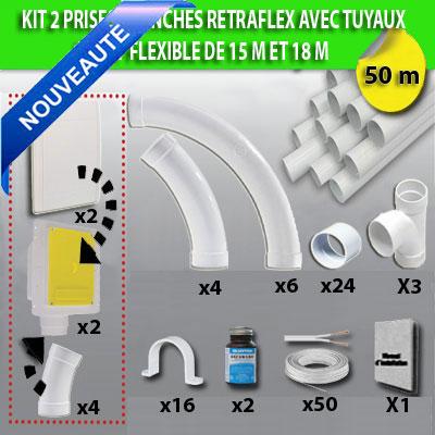 kit-2-prises-retraflex-blanches-nouvelle-generation-20-plus-petit-que-le-premier-modele!-avec-tuyaux-pour-flexible-de-15m-et-18m-150-x-150-px