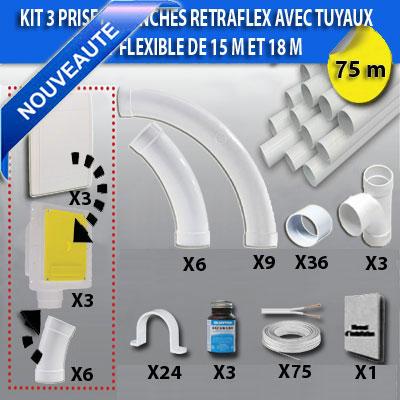kit-3-prises-retraflex-blanches-nouvelle-generation-20-plus-petit-que-le-premier-modele!-avec-tuyaux-pour-flexible-de-15m-et-18m-150-x-150-px
